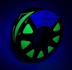 Filamento PLA Fluorescente Amarelo
