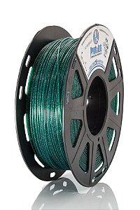 Filamento PLA Art Glam Verde Diâmetro