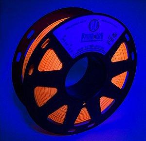 Filamento PETG Fluorescente Laranja