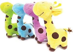 Pelúcia girafa - sonora