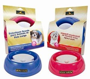 Bebedouro para cachorro de pelo longo - Petflex
