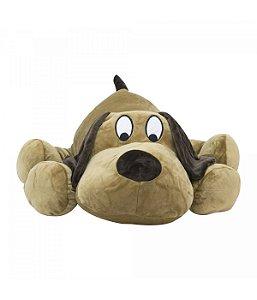 Cachorro Marrom Deitado - 50cm