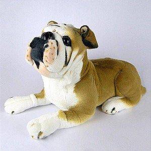 Cachorro De Pelúcia Bulldog