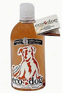 Shampoo Pelos Escuros ECO DOG 500ml com Óleo de Copaíba e Extrato de Nogueira