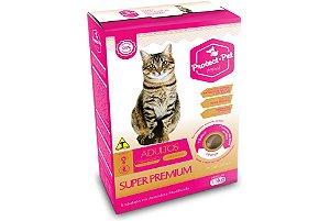 Ração Super Premium Protect Pet Gatos Adultos Castrados - Sabor Salmão 1,5KG