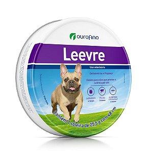 Coleira Antiparasitária Ourofino Leevre para Cães - 48cm