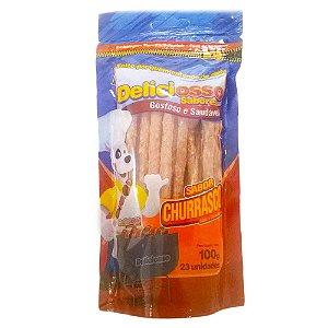 Osso Deliciosso Palito Sabor Churrasco 100g