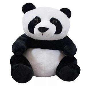 Pelúcia Urso Panda Sentado 30 cm - Fofy Toys