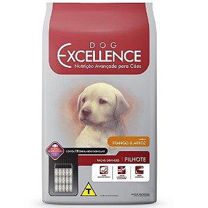 Ração Selecta Excellence para Cães Filhotes de Raças Grandes Frango e Arroz - 15 Kg