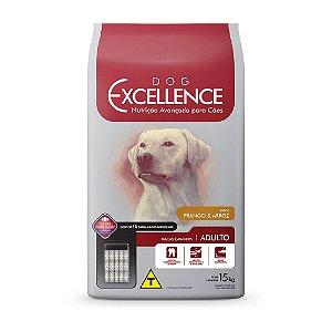 Ração Excellence para Cães Adultos de Raças Grandes Frango e Arroz - 15kg