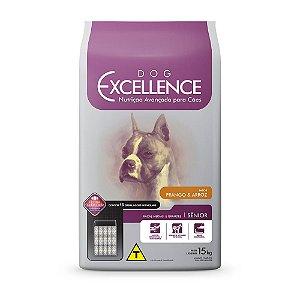 Ração Excellence para Cães Sênior de Porte Médio e Grande Sabor Frango e Arroz - 15kg
