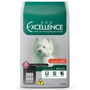 Ração Selecta Dog Excellence para Cães Adultos de Raças Pequenas - Salmão e Arroz 10,1 Kg