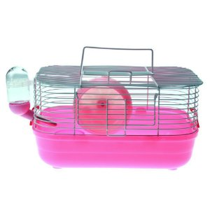 Gaiola Hamster Completa Pop Star Brancos - Rosa