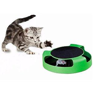 Brinquedo interativo para gatos - Arranhador