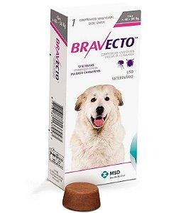Bravecto Antipulgas e Carrapatos para Cães de 40 a 56 Kg