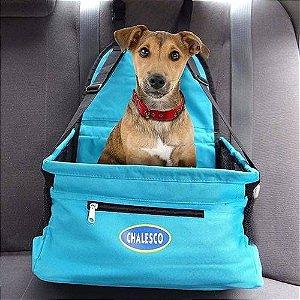 Cadeirinha para transporte de cachorros Chalesco - Azul