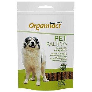 Pet Palitos Probióticos Organnact  Sachê 160 g - Suplemento Vitamínico