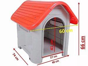 Casinha para cachorro em plástico nº 3 - MecPet