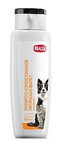 Shampoo Condicionador Antipulgas Ibasa - 200 ml