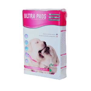Tapete Higiênico Ultra Peds 60 x 60 - Pacote com 14 unidades