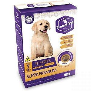 Ração Super Premium Protect Pet Filhotes Raças médias e grandes