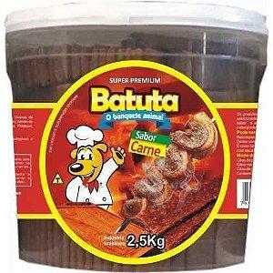 Bifinho canino Sabor Carne - Batuta  2,5 kg