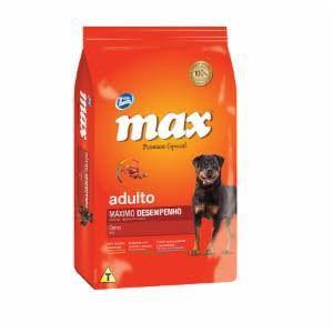 Ração Max Máximo Desempenho para Cães Adultos Sabor Carne 15 kg