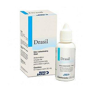 Drasil 20 ml - Antivômito e Nauseas para cães e gatos