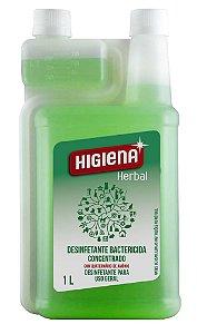 Desinfetante Higiena Herbal Bactericida Concentrado 1 Litro