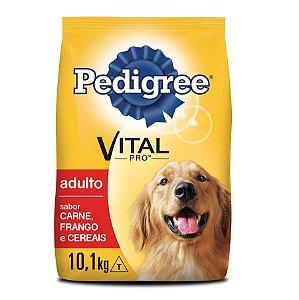 Ração Pedigree Vital Pro para Cães Adultos Sabor Carne, Frango e Cereais
