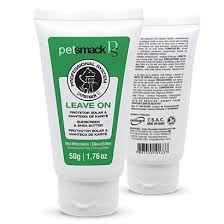 Leave On PetSmack Bisnaga 50 g - Protetor Solar e Manteiga de Karité