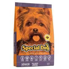 Ração Special Dog Sênior Premium para Cães Adultos de Raças Pequenas