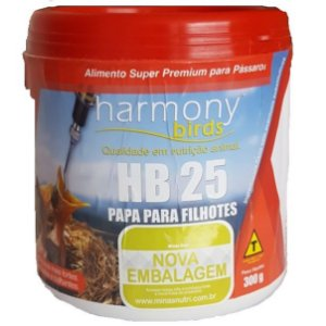 Harmony Birds HB 25 - Papa para Filhotes 300g