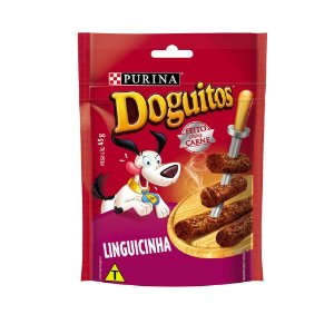 Petisco Nestlé Purina Doguitos Linguicinha