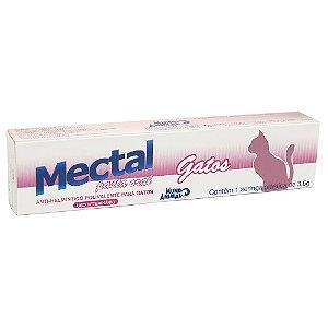 Vermífugo Mectal Mundo Animal para Gatos  -Pasta Oral 3,6 g
