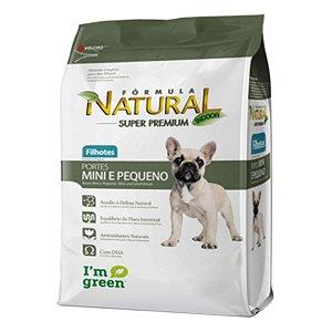 Ração Fórmula Natural para Cães Filhotes Raças Mini