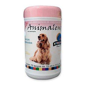 Lenços Umedecidos Animalenço para Fêmeas Animalíssimo 75 unidades