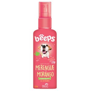 Colônia Beeps Body Splash Merengue de Morango 120 ml - Pet Society