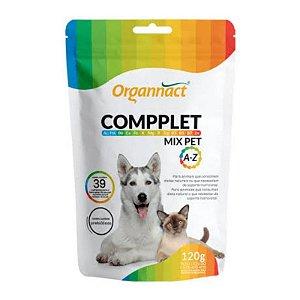 Suplemento Alimentar para Cães e Gatos Compplet Mix Pet A-Z 120 g Organnact