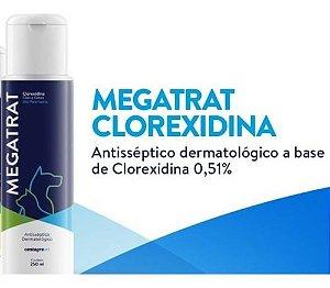 Shampoo Dermatológico Dermatrat 4 - Clorexidina para cães e gatos 250 ml