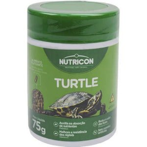 Raç~çao para tartarugas e cágados Turtle Nutricon 75g