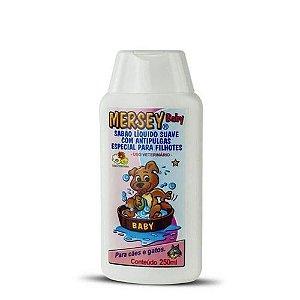 Shampoo Mersey Baby com antipulgas especial para filhotes - 250 ml