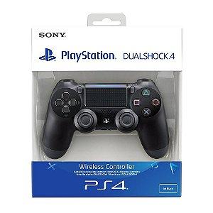 CONTROLE PS4 PRETO PROMOÇÃO