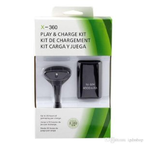 KIT CHARGE PLAY XBOX 360