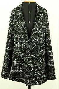 Maxi Blazer Tweed