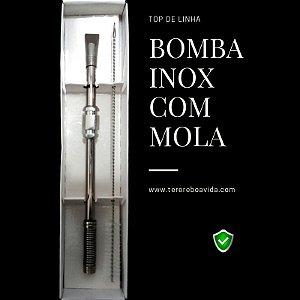 Bomba Inox com mola sextavado