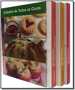 Box - 200 Receitas de Geleias e Conservas