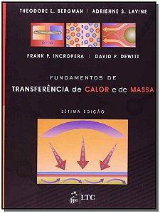 FUNDAMENTOS DE TRANSFERÊNCIA E CALOR E DE MASSA