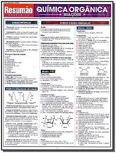 Resumão Exatas - Química Orgânica Reações