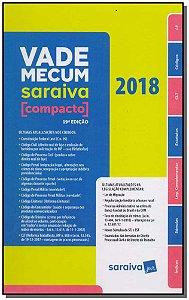 Vade Mecum Saraiva - 19Ed/18 - Compacto - Espiral